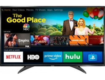 "$90 off Toshiba 49"" LED 1080p Smart HDTV Fire TV Edition"