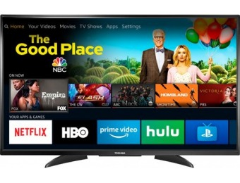 "$120 off Toshiba 50"" LED 2160p Smart 4K UHD TV – Fire TV Edition"
