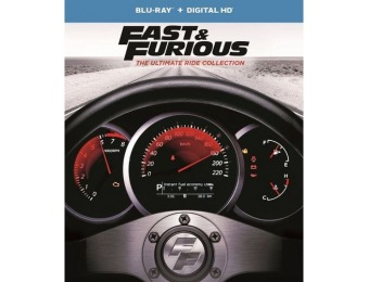 64% off Fast and Furious: The Ultimate Ride Collection (Blu-ray)