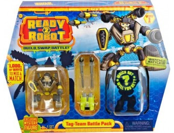 60% off Ready2Robot Double Trouble Battle Pack