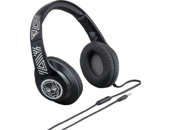 56% off eKids Marvel Black Panther Wired Over-the-Ear Headphones