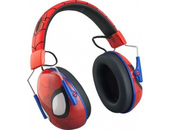 40% off KIDdesigns Spiderman Wired Over-the-Ear Headphones