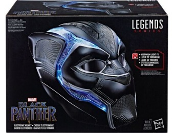 35% off Marvel Legends Series Black Panther Electronic Helmet