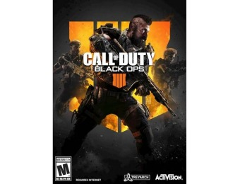 50% off Call of Duty: Black Ops 4 - Windows
