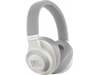 50% off JBL E65BTNC Wireless Noise-Cancelling Headphones, White
