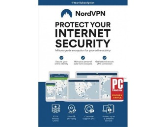 43% off NordVPN (1-Year) - Android|Mac|Windows|iOS