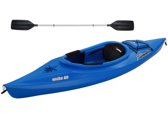 $164 off Sun Dolphin Aruba 10' Sit In Kayak with Paddle