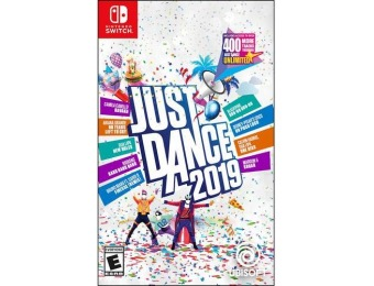 50% off Just Dance 2019 - Nintendo Switch