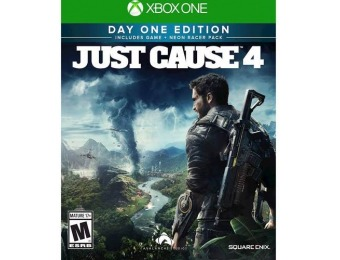 67% off Just Cause 4 Day 1 Edition - Xbox One