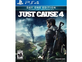 67% off Just Cause 4 Day 1 Edition - PlayStation 4