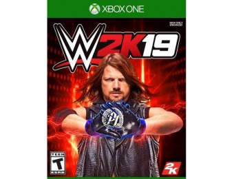 83% off WWE 2K19 - Xbox One