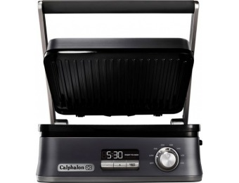 $80 off Calphalon Electric Multi-Grill - Dark Stainless Steel
