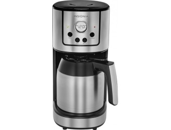 $50 off Insignia 10-Cup Coffee Maker - Stainless Steel