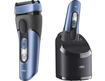 $137 off Braun CoolTec Shaver Clean and Charge System