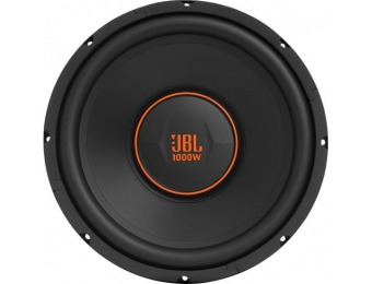 "$100 off JBL GX Series 12"" Single-Voice-Coil 4-Ohm Subwoofer"