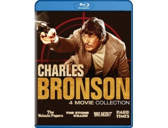 58% off Charles Bronson Collection: 4 Movie Collection (Blu-ray)