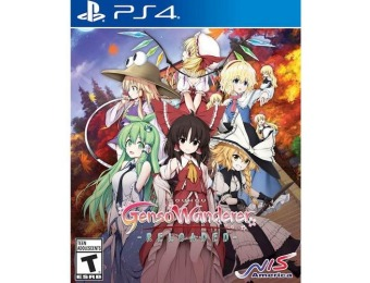 58% off Touhou Genso Wanderer Reloaded - PlayStation 4