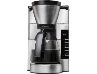 $40 off Capresso MG900 10-Cup Coffee Maker - Stainless Steel