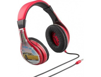 50% off KIDdesigns Cars 3 Wired Over-the-Ear Headphones