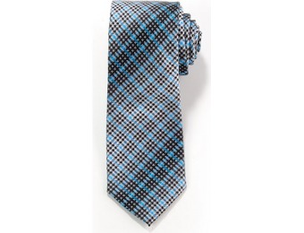 80% off Mens Architect Hound Check Tie