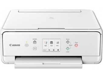 $80 off Canon Pixma TS6220 White Wireless Inkjet All-In-One Printer