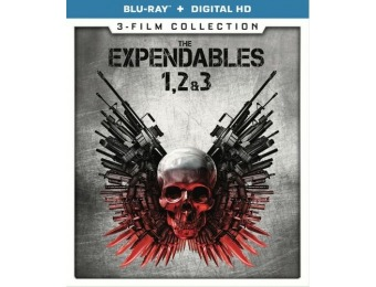 38% off The Expendables: 3-Film Collection (Blu-ray)