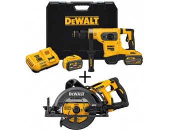 $219 off DEWALT Flexvolt 60-V MAX Li-Ion Brushless Rotary Hammer
