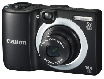 $140 off Canon PowerShot A1400 16 Megapixel Compact Camera