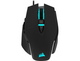 $20 off CORSAIR M65 RGB Elite Wired Optical Gaming Mouse