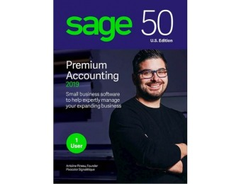 50% off Sage 50 Premium Accounting 2019 (1-User) - Windows