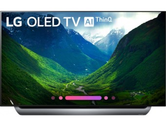 "$1,100 off LG 55"" OLED C8 Series 2160p Smart HDR 4K UHD TV"