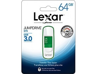 86% off Lexar JumpDrive S75 64GB USB 3.0 Flash Drive
