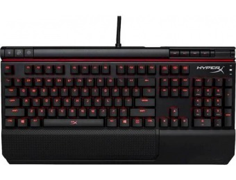 $50 off HyperX Alloy Elite Gaming Mechanical Switch Keyboard