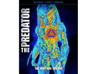60% off The Predator (Blu-ray + DVD + Digital)