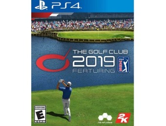 60% off The Golf Club 2019 Featuring PGA TOUR - PlayStation 4
