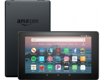 "38% off Amazon Fire HD 8 8"" Tablet - 16GB 8th Generation"