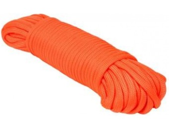 52% off Extreme Max 50' Type III 550 Paracord in Neon Orange