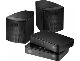 $40 off Insignia Universal Rear Speakers (Pair)