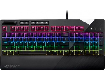 $30 off ASUS ROG Strix Flare RGB Gaming Mechanical Keyboard