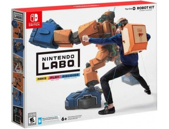 50% off Nintendo Labo Robot Kit - Nintendo Switch
