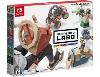 50% off Labo Toy-Con: Vehicle Kit - Nintendo Switch