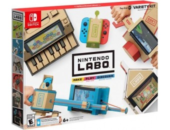 43% off Nintendo Labo Variety Kit - Nintendo Switch
