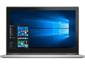 "$264 off Dell Inspiron 13.3"" 2-in-1 Laptop, Intel Core i7, SSD, Refurb"