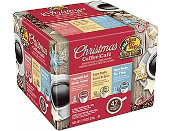 78% off Uncle Buck's Christmas Coffee Mix Brew Cups (42 Pack)