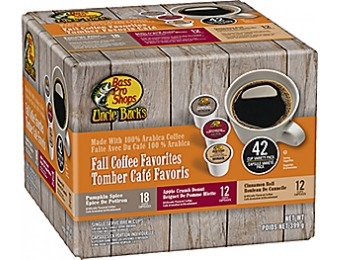 78% off Uncle Buck's Fall Coffee (42 Pack)