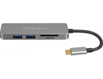$10 off Aluratek USB Type-C Docking Station