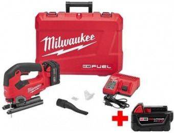 $129 off Milwaukee M18 Fuel 18-Volt Brushless Jig Saw Kit