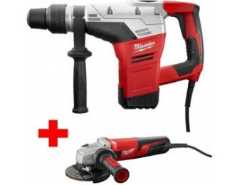 "$159 off Milwaukee 10.5A 1-9/16"" SDS-Max Rotary Hammer Kit"