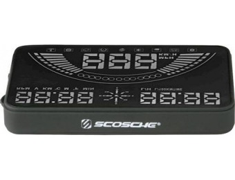 50% off Scosche OBD GPS Combo Heads-Up Display