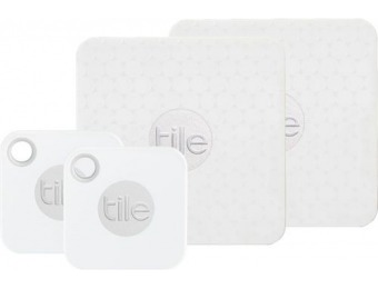 57% off Tile Mate & Slim Combo Item Trackers (4-Pack)
